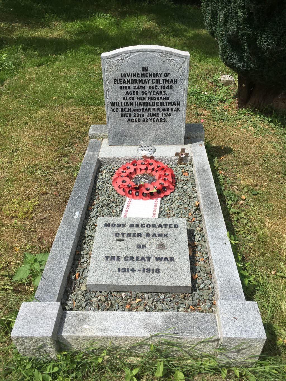 William Harold Coltman Grave Headstone