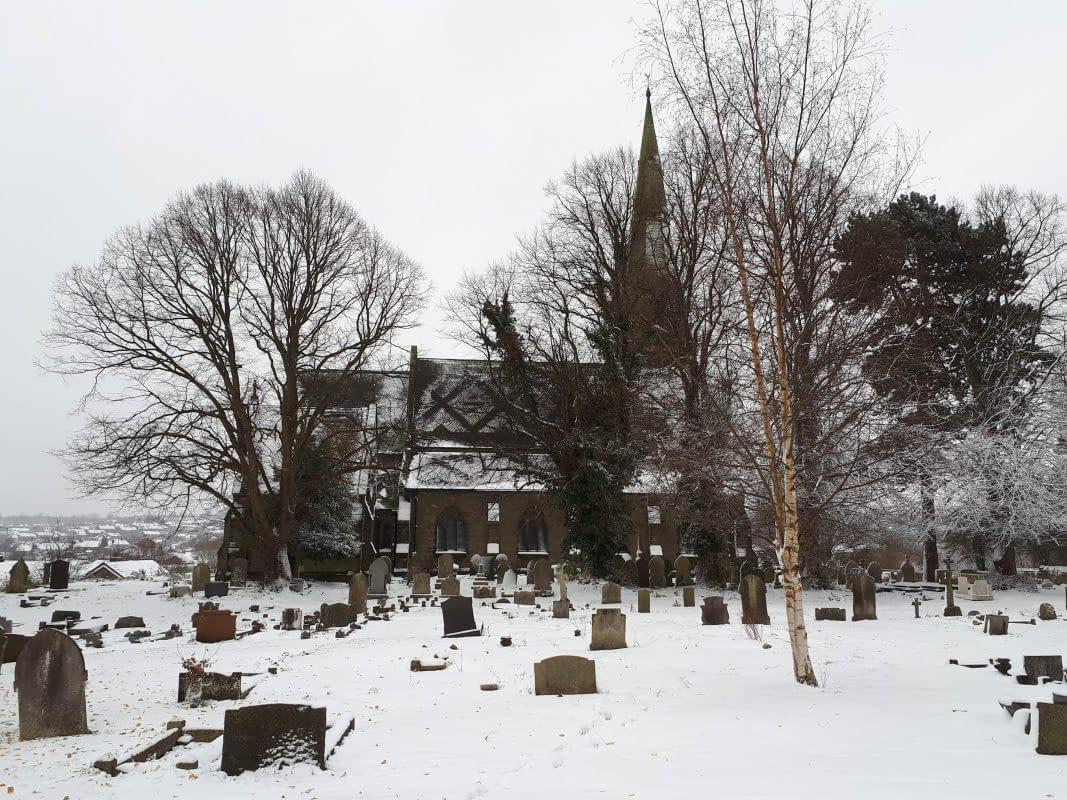 St Mark's Church in the Snow