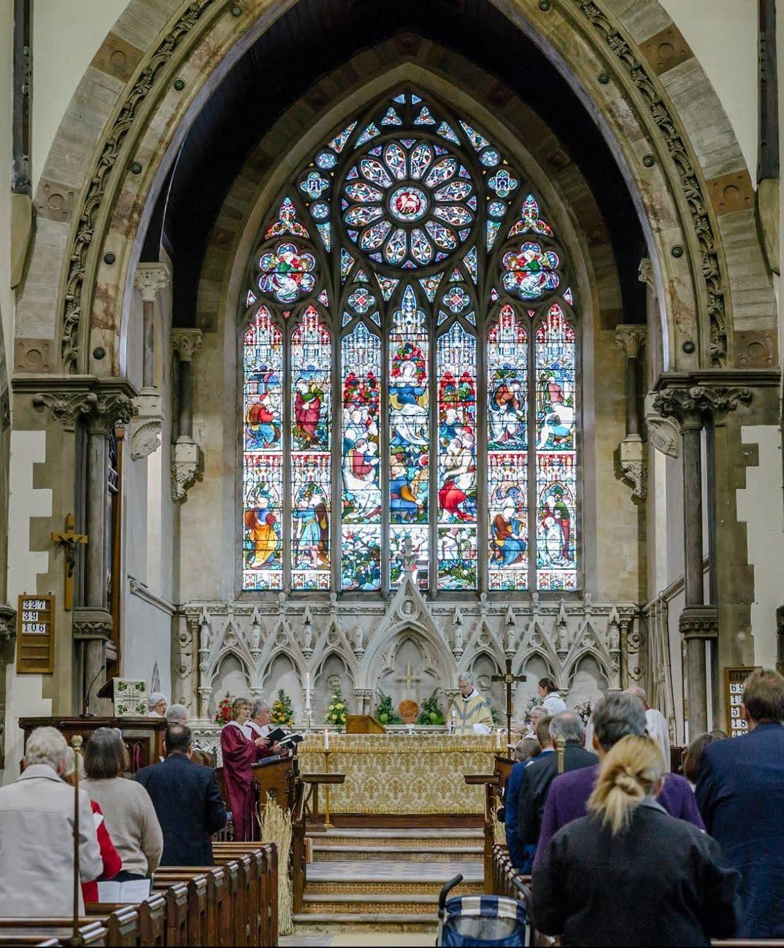 Harvest Festival at St Mark's Church