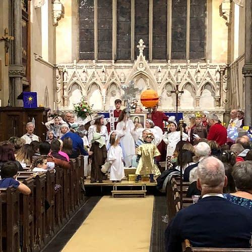 Christingle at St Mark's Church