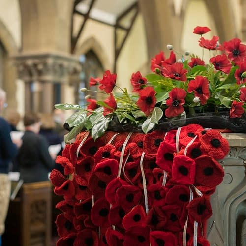 Remembrance Sunday at St Mark's Church
