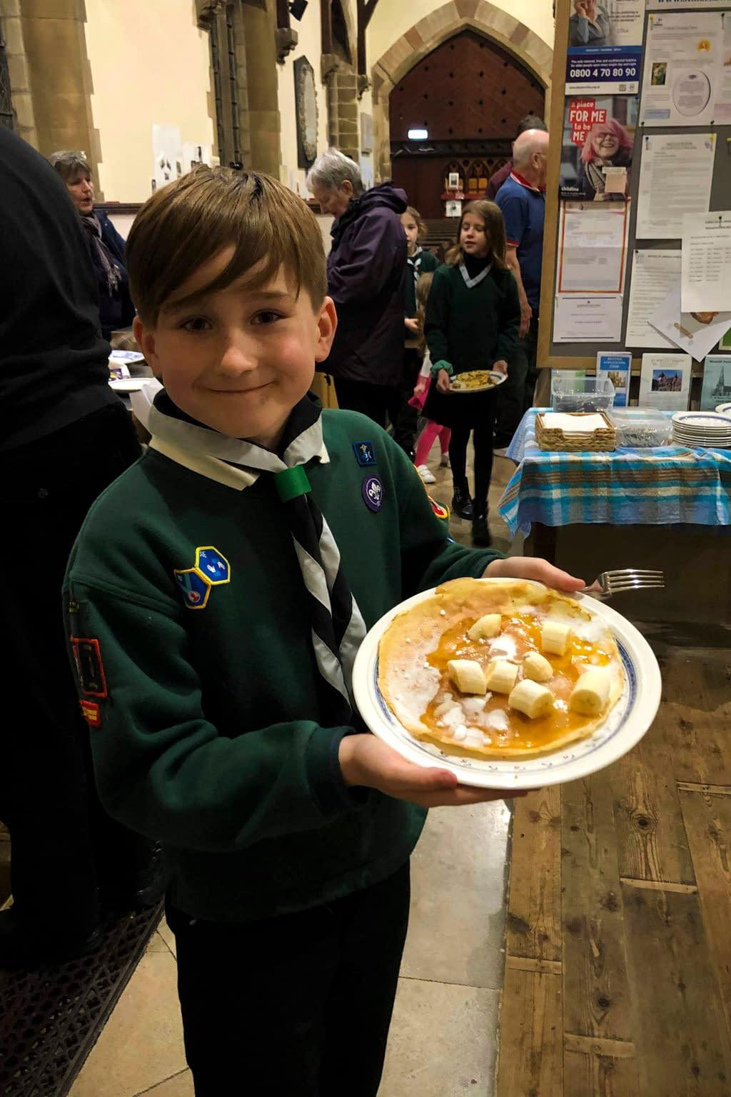 Shrove Tuesday – Pancake Party 2020